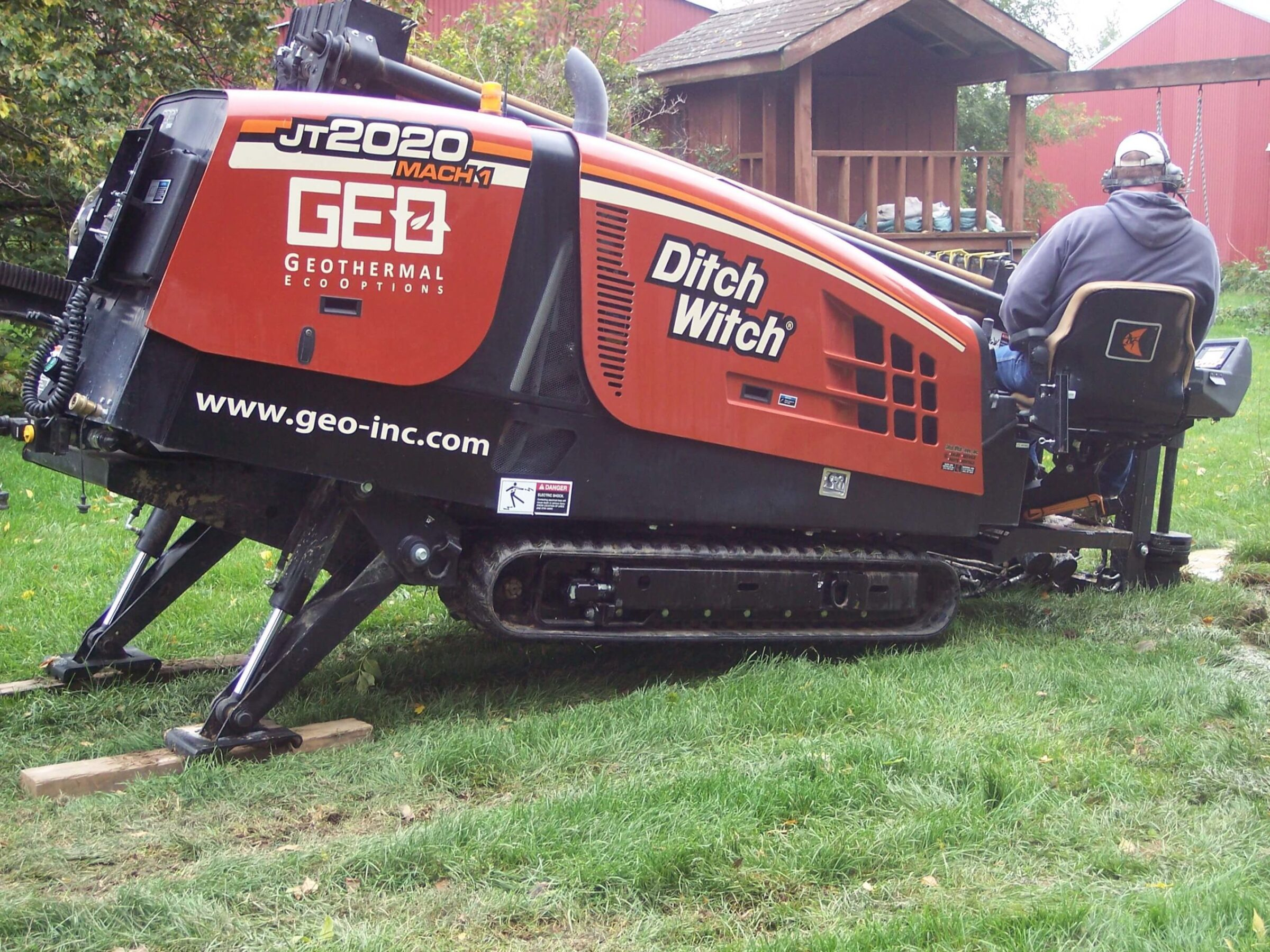 Ditch Witch In Use